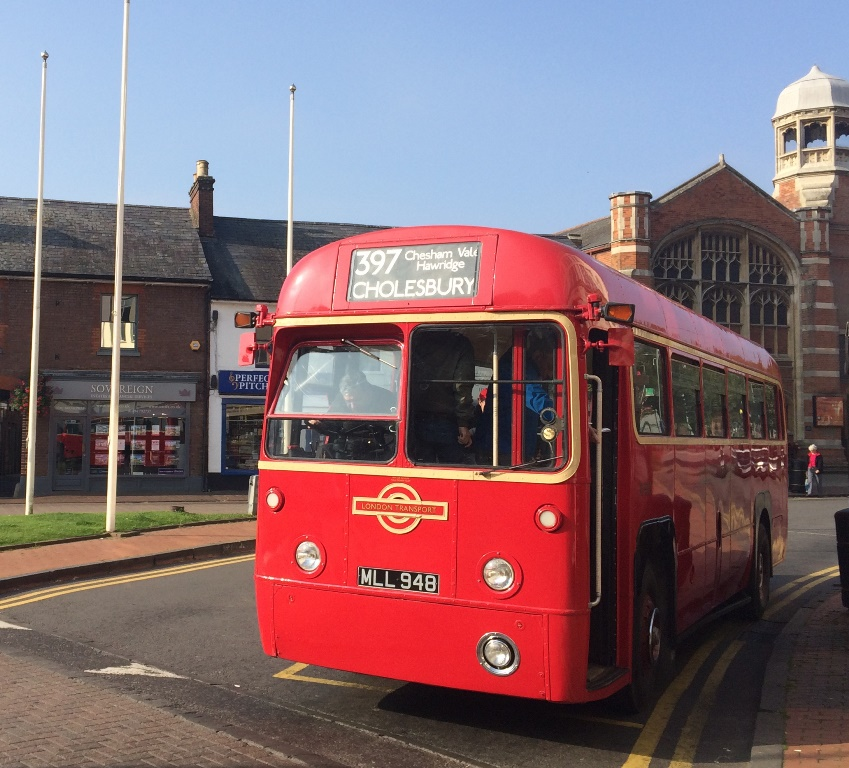 Red Vintage Bus Wedding Bus Hire In High Wycombe